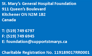 Foundation Contact Information - foundation@supportstmarys.ca